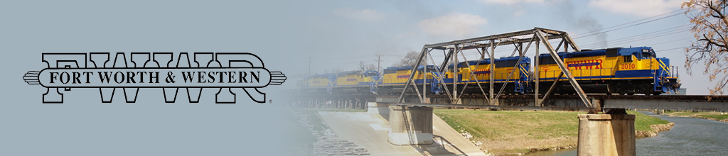 Partner with Fort Worth & Western Railroad to solve your transportation needs.